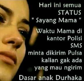 "@rakyatindonesia 22/12/2014 14:11:32 WIB Krn HARI IBU BanyakStatus di BBM yg ngucapin ""SayangMama"""