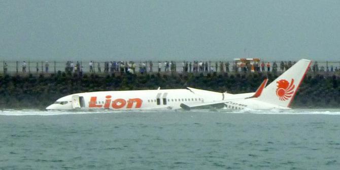 kecelakaan lion air