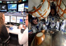 pendaratan astronot