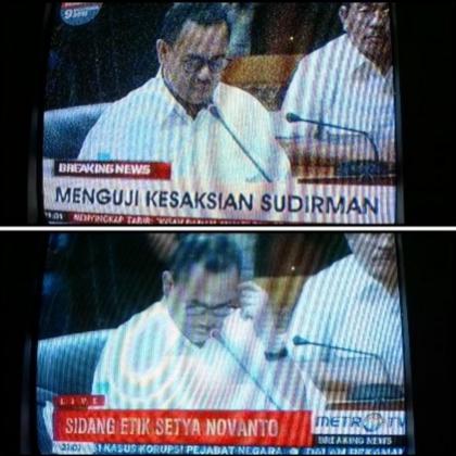 @taufikekosusilo 11h11 hours ago Saudara pengadu, kenapa gambar saudara bisa sama tapi tulisannya beda. #pertanyaanMKD