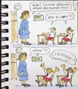 @ndorokakung 09/12/2015 09:34:31 WIB Dasar anak-anak..  #Pilkada2015