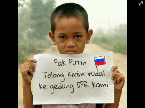 @hendrick_curut 2h2 hours ago Tolong yah pak Putin...thanks before! #MKDBobrok
