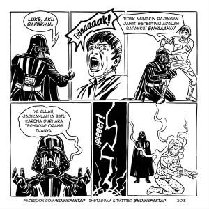 @KomikFaktap: Star Wars dengan kearifan lokal #komikfaktap #kearifanlokal #starwars