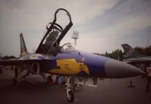 @wadhiutomo T50 Angkatan Udara yg terpajang di pangkalan udara Adi Sutjipto.