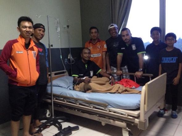 pusamaniaborneoTrombosit Turun, Pelatih PBFC Jalani Rawat Inap di Rumah Sakit Haji Darjat (RSHD) Samarinda. GWS Coach