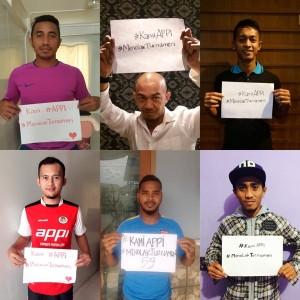 @APPI_info 5h5 hours ago @Leo23__ @yongki_ari @air9_sucipto @Kipuw13 @m_taufiq08 @Firman_15_Utina #KamiAPPI #MenolakTurnamen #GameChangers