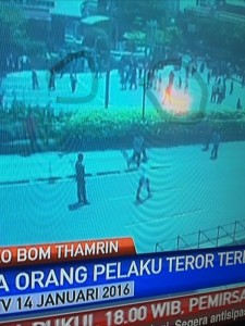 @asalim30 19/01/2016 16:21:07 WIB Satu teroris ke utara dan yg lain ke timur