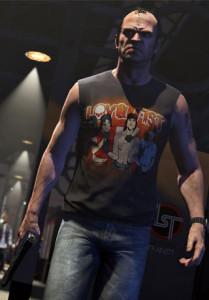 Berikut adalah salah satu tokoh asli di GTA 5.