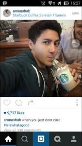 @EricaOkta123 35m35 minutes ago View translation Komandan ISIS salah milih negara buat di bom, #KamiTidakTakut udah di bom aja masih sempat selfie sambil minum coffe di sarinah bhakss 😂