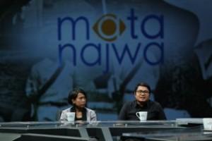 @MataNajwa Tlh hadir di studio Wendra Rona Putra,Pengacara LBH Padang& Yulia Evina Bhara, pendamping Tom Iljas. #MataNajwa