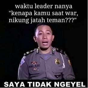 andretelulasSelamat pagi Cuman di Indonesia ketika tanda P dan S dicoret diperdebatkan Polisi vs supir taksi Polisi vs clasher