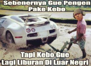 IG @komediputer: Hahaha kenalin nih orang namanya Amin richman, orang indonesia yg duitnya infinite