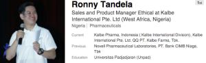 Ronny tandela