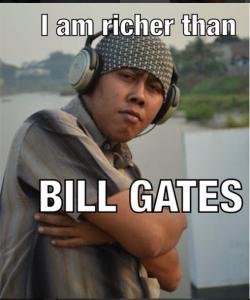 meme4ever_awsomeHe is richer than Bill Gates