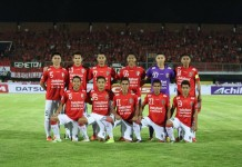 @BaliUtd Feb 5 Starting Line Up Bali United vs PS TNI