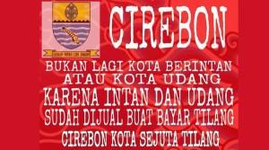 @wak_apul 02/02/2016 12:57:49 WIB Namun para onliner kini menggantinya sebagai 'Cirebon Kota Tilang', apa penyebabnya ya?