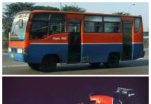 @rioadhitomo Ditengah bobroknya Metromini, Pak @basuki_btp hrs bangga, krn corak metromini jd corak mobil f1 nya Rio Haryanto ;D