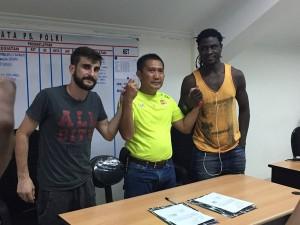 @KampiunANTV 23h23 hours ago View translation Resmi, Robertino Pugliara & Bio Pauline bantu PS POLRI di Piala Bhayangkara.