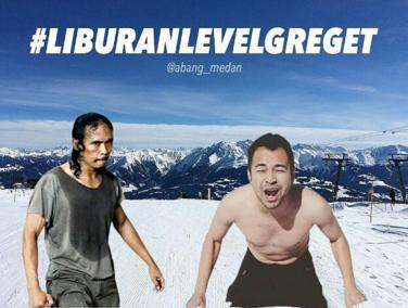 #Repost @abang_medan with @repostapp ・・・ Lagi hits nih.. #liburanraffi #liburanlevelgreget ... . Have fun ya
