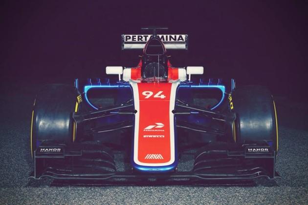 Pic : Facebook Manor Racing Manor Racing MRT05 Reveal 22.02.2016. Manor Racing MRT05 Reveal, Barcelona, Spain. Monday. — at Circuit de Barcelona-Catalunya.
