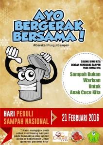 @PersepamMU 1h1 hour ago Pamekasan, Indonesia View translation Bakti Sosial!!! 21 Februari 2016. Hari Peduli Sampah Nasional. Start: Monumen Arek Lancor Pamekasan Pukul: 05:30 Wib