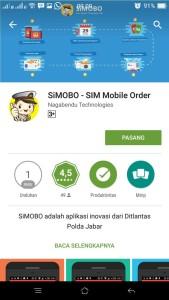 @lantas_subang 12/02/2016 09:12:26 WIB Utk layanan perpanjang Sim dan info lalin silahkan download aplikasi Simobo melalui play store