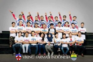 We are Crew VIKING FARMASI — with IrWan, Alan, Cepi, Jelly, Nandar and Purnama at Komplek Baranang Siang Indah Ciparay.