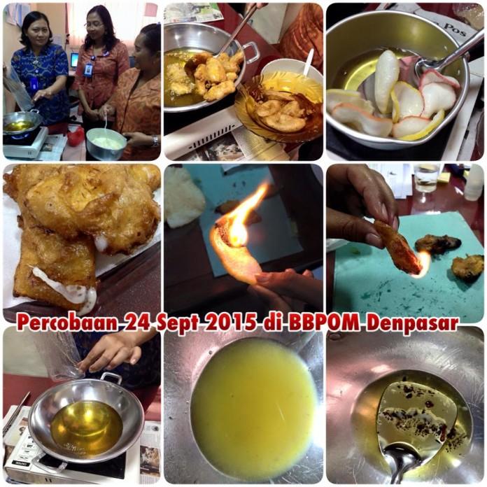 FB : BBPOM Denpasar : Penjelasan BPOM terkait pangan mengandung plastik, silakan buka website bpom di