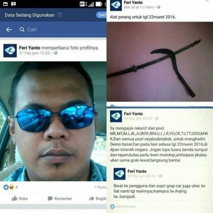 @PunkyKing 22/03/2016 12:04:57 WIB @TMCPoldaMetro mohon usut tuntas akun Feri Yanto, bobotnya sama kyk gerakan separatisme..