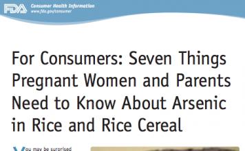 7 Hal yang Wajib Diketahui Tentang Arsen dalam Beras dan Sereal Beras Bayi