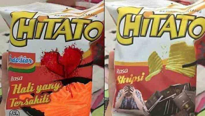 Pastinya kini telah hadir CHitato rasa Tahu Bulat, silahkan bidhuaners coba di minimarket terdekat.
