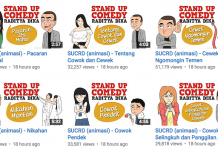 Raditya Dika Luncurkan 11 Video Kartun Animasi Stand Up Komedinya