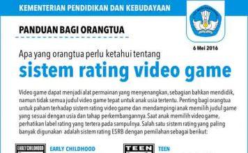 rating video games copy