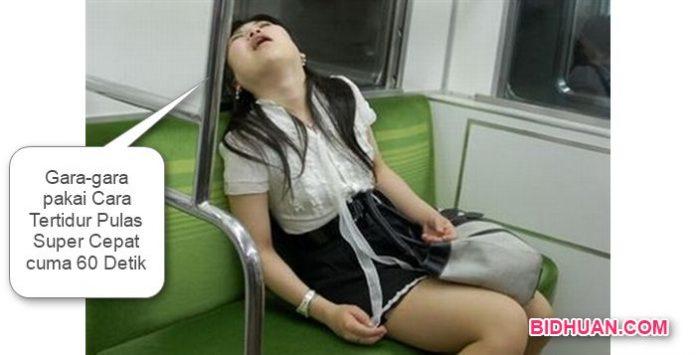 Cara tidur cepat sehat yang baik