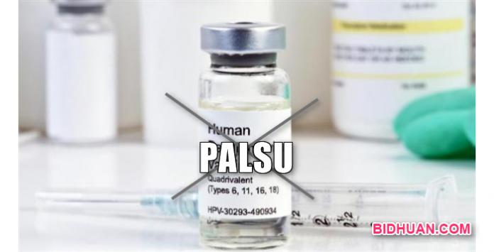 Dokter Beli Vaksin Palsu