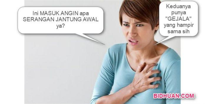 Gejala Serangan Penyakit Jantung Awal