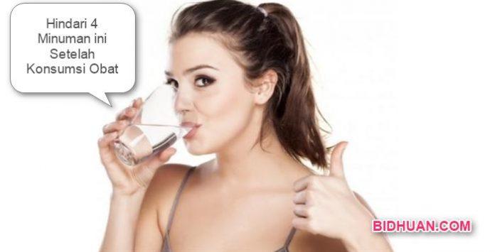 Hindari 4 Minuman ini Setelah Konsumsi Obat