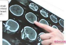 cara infeksi cacing parasit di otak anak