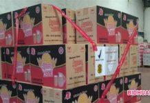 BPOM Gerebek dan Sita Ribuan Kardus Makanan Ringan di Tanggerang