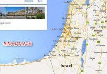 Palestina Dihapus dari Google Maps dan Diganti jadi Israel