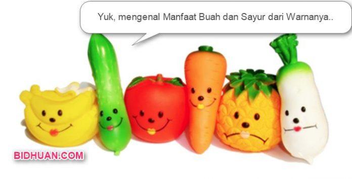 Gambar buah dan sayur