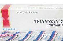 Obat Antibiotik Thiamycin Kegunaan, Dosis, Efek Samping dan Harga