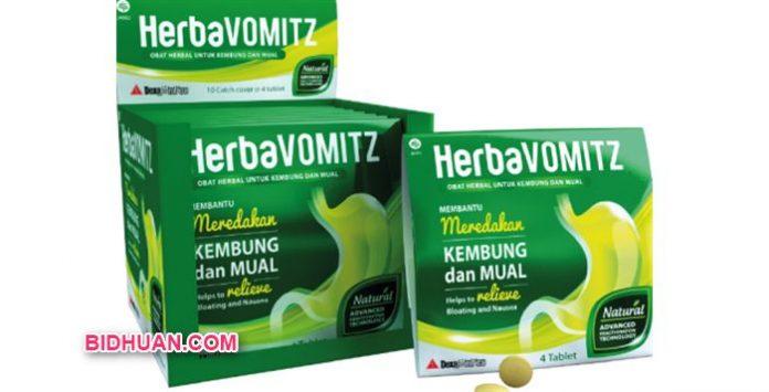 Obat Herbal HerbaVOMITZ Kegunaan,Dosis , Aturan Pakai dan Harganya
