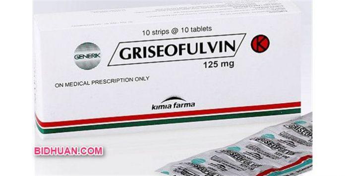 Obat Infeksi Jamur Griseofulvin Kegunaan, Dosis, Efek Samping dan Harga