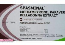 Obat Spasminal Tablet Efek Samping, Dosis dan Harga di Apotik