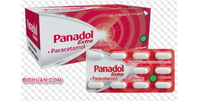 Panadol Extra (Merah) Cara Pemakaian, Dosis, Efek Samping dan Harga Obat di Apotik