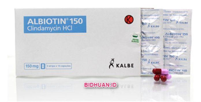 Obat Albiotin (Clindamycin HCl) Kegunaan, Dosis, Efek Samping dan Harga