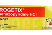 Obat Urogetix Antibiotik untuk Penyakit Anyang-anyangan (Infeksi Saluran Kemih)