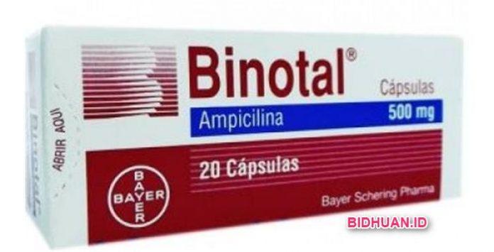 Obat Binotal Obat Antibiotik Infeksi Saluran Kencing (Kemih)
