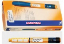 Obat Novorapid Obat Insulin untuk Diabetes Melitus atau Kencing Manis